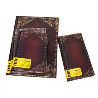 圆背手册本 欧式雕花复古日记本子 加厚硬面记事本笔记本