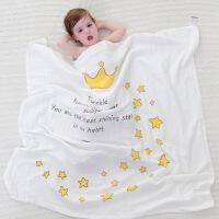 婴儿纱布浴巾2层6薄款小孩幼儿宝宝夏季被子全棉夏天儿童专用双层