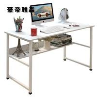 简易电脑桌台式家用简约现代经济型书桌写字台办公桌子学生学习桌