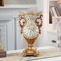 欧式花瓶摆件客厅插花干花复古创意家居奢华电视柜餐桌装饰摆设