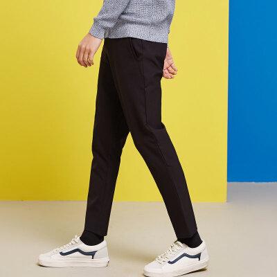 【1件2.5折到手价:41.3】美特斯邦威休闲裤男装修身春新款微弹舒适百搭九分裤商场款 美特斯邦威超品日,千款限时1件2.5折,还能叠券!