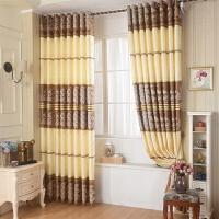 田园韩式窗帘成品客厅卧室阳台升级版遮光布料定制