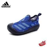 阿迪达斯Adidas童鞋18新款儿童凉鞋婴幼童学步鞋男女童宝宝鞋单网透气婴童综合训练鞋 (0-4岁可选) DB2016