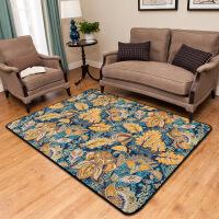 欧式大地毯床边客厅卧室茶几地垫地毯