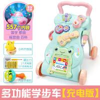 宝宝多功能学步车手推车玩具婴儿童防侧翻助步车6-7-18个月1岁