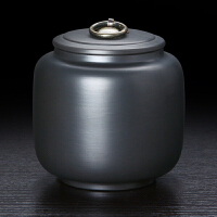 紫砂茶叶罐陶瓷茶叶罐醒茶罐密封储存罐普洱茶具茶罐