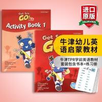华研原版 牛津幼儿英语启蒙教材 英文原版 Get Set Go Book 1 学生用书+练习册套装 Oxford En