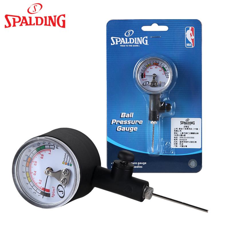 斯伯丁篮球用指针式测压表 篮球排球足球气压表 裁判专用压力表