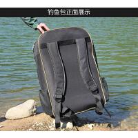户外鱼竿包渔具包钓鱼包双肩包多功能钓椅包背包鱼杆包鱼具包