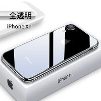 iPhone XR手机壳苹果XR透明新款iPhoneXR超薄潮牌9全包防摔套xr保护套1R硅胶女款