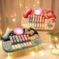 ������琴�I音�吩缃屉�子琴玩具多功能�和�益智���菲麂�琴��琴