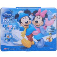 迪士尼儿童绘画礼盒/米奇文具套装 /礼品礼物 128件美劳派DM6903