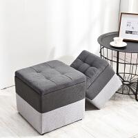 储物凳矮凳实木凳子换鞋凳客厅沙发凳简约时尚收纳凳创意凳子矮墩
