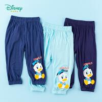 迪士尼Disney童装 男童防蚊裤宝宝轻薄透气裤子2020年夏季新品儿童灯笼裤