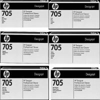 原装惠普 正品HP 705号 打印头系列 CD953A黑色 CD954A青色 CD955A品红色 CD956A黄色 C