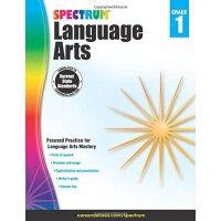 【现货】英文原版 光谱语言艺术(语文)1年级 Spectrum Language Arts, Grade 1 6-7岁