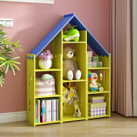 儿童书架简约现代创意环保读书角幼儿园储物柜宝宝收纳柜学生书橱