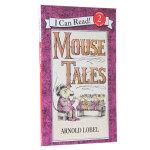 顺丰发货 汪培�E推荐第三阶段英文原版I Can Read, Level 2 Mouse Tales 老鼠故事 老鼠爸爸
