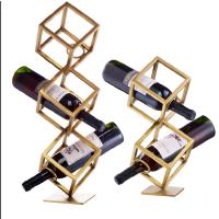 家用红酒杯架创意不锈钢红酒架摆件家居客厅装饰酒架酒具摆设
