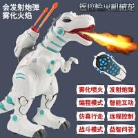 大号恐龙玩具电动仿真声音会发光走路喷火焰飞龙遥控模型男孩智能