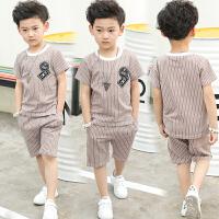 男童夏装新款套装夏季童装儿童短袖中大童运动两件套韩版潮衣