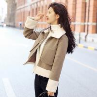 №【2019新款】冬天年轻人穿的森系毛呢外套短款韩版小矮个子流行呢子大衣女学生潮