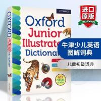 正版 牛津少儿英语图解词典 英文原版工具书 Oxford Junior Illustrated Dictionary 儿童初级词典 英英字典 英文版进口书籍