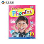 Kids Express Phonics 3 小学短期自然拼读 原版进口培生朗文提升英语语音和口语近似发音对比提高辨音