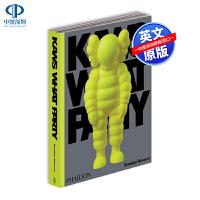预售英文原版 KAWS: WHAT PARTY Yellow Edition 考斯品牌设计 潮牌艺术设定集 涂鸦艺术画册