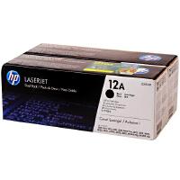 惠普原装正品 hp Q2612A双包装黑色激光打印硒鼓 hp12A墨粉盒 惠普hp LaserJet 1010 1012