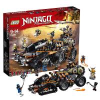 【当当自营】乐高LEGO 幻影忍者Ninjago系列 70654 重型捕龙卡车