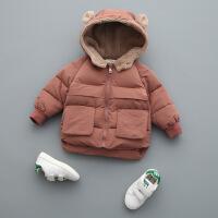 №【2019新款】冬天儿童穿的男童宝宝棉衣外套1儿童3岁冬装小童女洋气加厚羽绒棉袄
