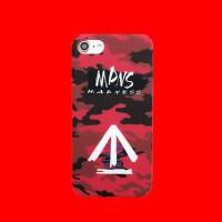 余文乐MDNS迷彩潮牌iPhone XS Max手机壳苹果7plus全包磨砂壳XR夜光壳6S硬壳8p