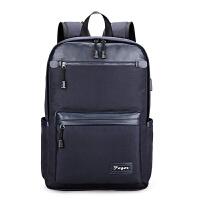 男士牛津布双肩包防水时尚休闲学生书包旅行背包电脑包潮男包