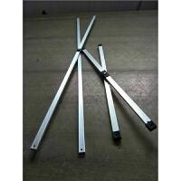 户外折叠帐篷铝合金支架配件交叉管伸缩遮阳棚斜杆