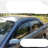 东南菱悦V3晴雨挡车窗雨眉改装专用汽车配件三菱蓝瑟不锈钢遮雨条SN3012