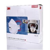 3M口罩 9322口罩(10只/盒)FFP2颗粒物防护口罩防护极细粉尘防雾霾PM2.5