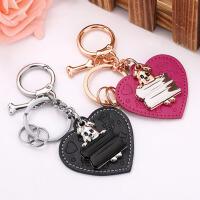 创意男女汽车钥匙链挂件可爱钥匙圈礼物 情侣钥匙扣 一对小熊
