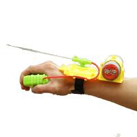 蜘蛛侠大人儿童手腕式按压喷水枪玩具批发小孩夏日玩沙戏水沙滩玩具