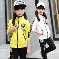 女童运动大童女装青少年女孩秋装儿童服装衣服