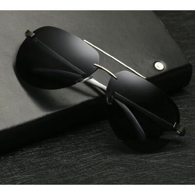 日夜两用偏光太阳镜男士墨镜变色夜视开车专用驾驶反光眼镜
