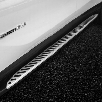 适用于宝马新X1侧踏板X3踏板X4X6X5改装配件外侧上车脚踏板