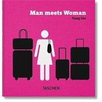 刘扬:男女相异【现货】英文原版Yang Liu: Man meets Woman 华裔设计师 东西相遇三部曲系列 幽默