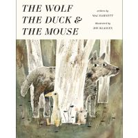 The Wolf, the Duck, and the Mouse 英文原版 狼,鸭子和老鼠 精装儿童绘本 凯迪克奖得