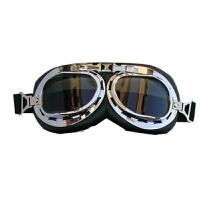 摩托车护目镜 哈雷头盔护眼镜 太子盔眼镜防风防紫外线哈雷护眼镜 均码
