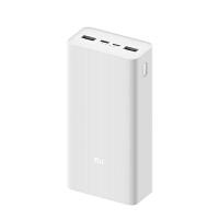 小米移�与�源充���30000毫安�p向快充版 USB-C三口大容量迷你充�器聚合物不可上�w�C �A�樘O果iphone三星手�C