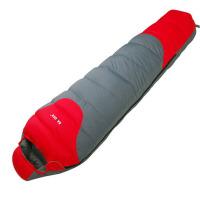 户外睡袋羽绒睡袋 冬季成人睡袋 - 20度木乃伊式轻鸭绒睡袋