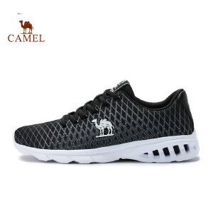 骆驼牌 男款轻质跑鞋 时尚轻薄透气减震运动鞋 网布鞋面跑步鞋