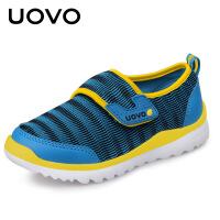 【1件3折】UOVO儿童运动鞋男童运动鞋女童运动鞋2021春新款儿童网鞋男童网鞋运动鞋透气网面夏季 托斯卡纳X