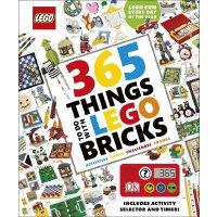 365 Things to Do with LEGO Bricks 英文原版 DK乐高砖块的365种玩法 含*器